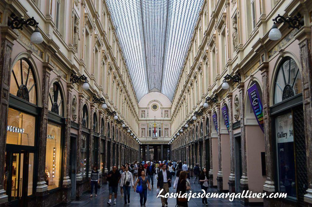 Galerias de la reina en Bruselas - Los viajes de Margalliver